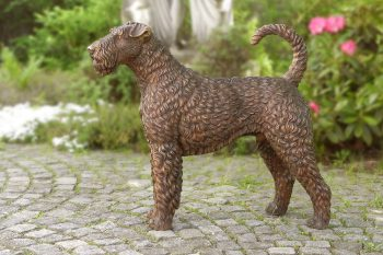 Airedale Terrier  Bronze Sculpture